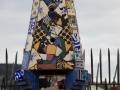 Die berühmten Schornsteine des Palau Güell