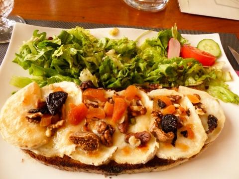 Lecker Essen im Café Morand