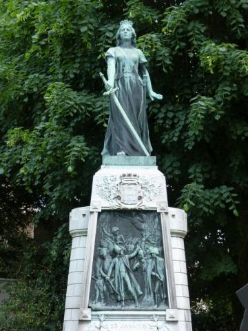 Jeanne d´Arc im Jardin de la Légion d´Honeur