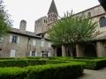 Klostergarten der Abteil Tournus