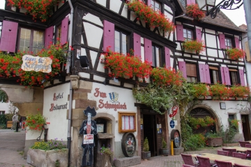 Hôtel zum Schnogaloch in Obernai