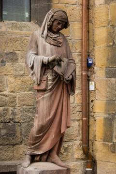 Statue Martin Schongauer in Colmar