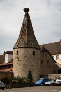 Der Rundturm Tour des Cigognes in Ribeauvillé