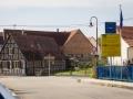 Grenzübergang Scheibenhard (F) / Scheibenhardt (D)