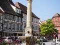 Brunnen am Rathausplatz von Molsheim