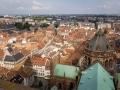 Blick auf Straßburg von der Kathedrale Notre Dame