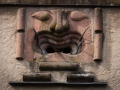 Lalli - steinernes Fratzengesicht in Kientzheim