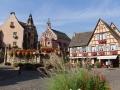 Leo-Brunnen in Eguisheim