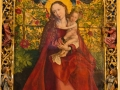 Gemälde Maria im Rosenhag in der Église des Dominicains in Colmar
