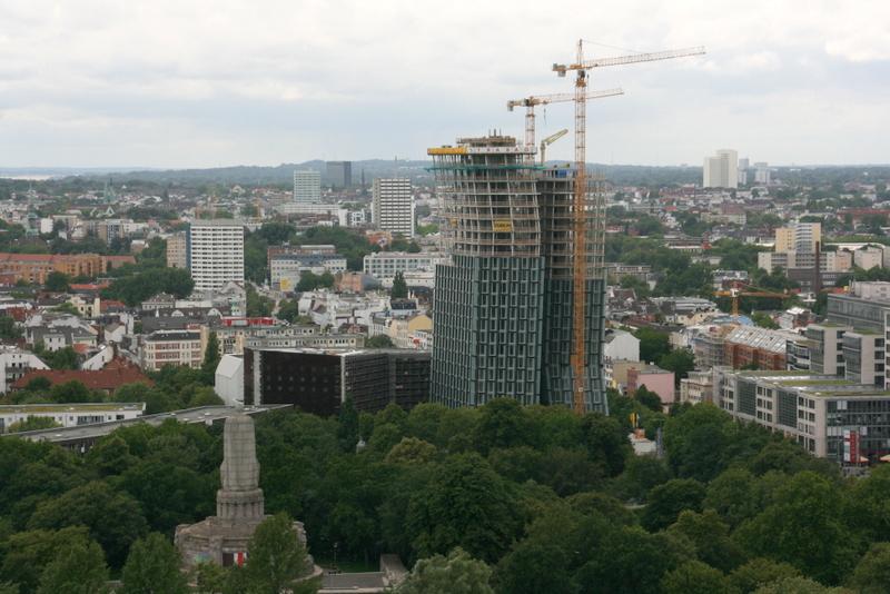 Blick auf St. Pauli