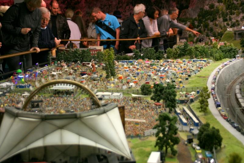 Miniatur Wunderland - DJ Bobo Konzert