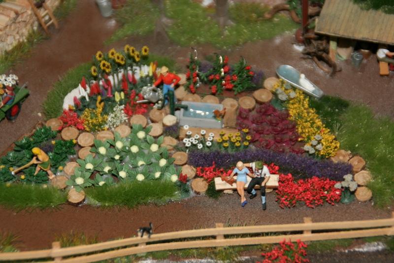 Szene im Miniatur Wunderland