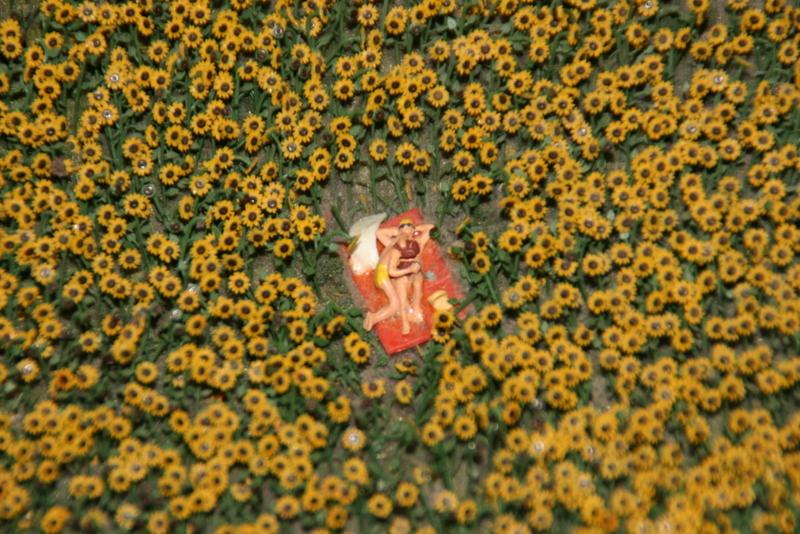 Pikante Szene im Miniatur Wunderland