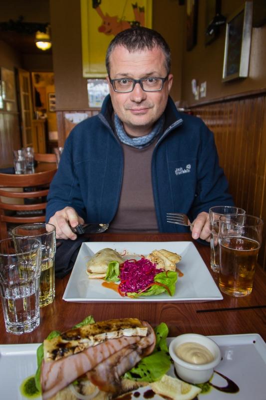 Lecker Essen im Truffle Pig