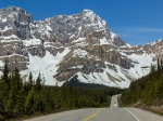 Die Rocky Mountains am Icefield Parkway