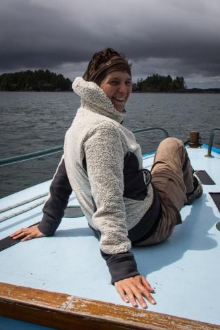 Die richtige Position zum Whalewatching
