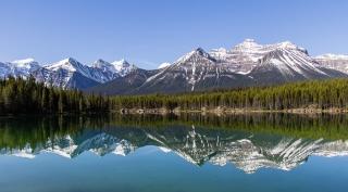 Herbert Lake nahe Lake Louise