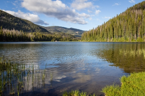 Abendstimmung am Lightning Lake im Manning Provincal Park