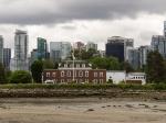 Skyline von Vancouver - im Vordergrund Deadman's Island