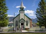 Die Kirche von Fort Steele