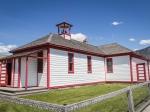Die Schule von Fort Steele