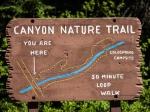 Wegweiser Canyon Nature Trail