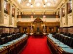 Innenansichten des Parlaments
