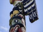 Totem im Thunderbird Park
