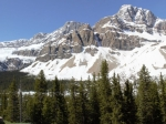 Rocky Mountains am Icefield Parkway