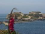 Fort Clonque auf Alderney