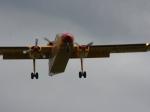 12 Passagiere passen in die Miniflieger der Fluglinie aurigny.com
