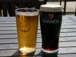 Unsere Grundnahrungsmitteln auf den Kanalinseln - Cider und Guiness