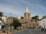 Die Kirche von St. Peter Port auf Guernsey