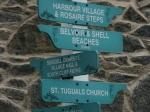 Herm - Kleine Insel aber viele Wegweiser