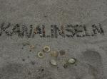 Shell Beach auf Herm - nachher