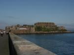 Castle Cornet am Hafen von St. Peter Port
