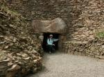 Eingang zur Grabkammer von La Hougue Bie