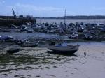 Der Hafen von Gorey bei Ebbe