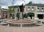 Liberation Place in St. Helier mit dem Freiheitsdenkmal