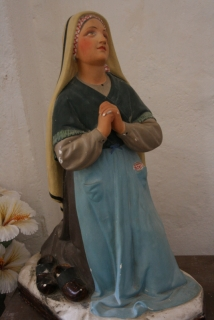 Marienfigur in der Kirche von Pigna