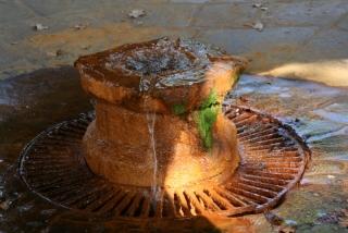 Die Urquelle des Orezza-Mineralwassers