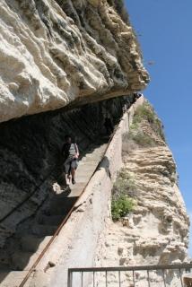 Die 187 Treppen der Escalier du Roi d´Argon