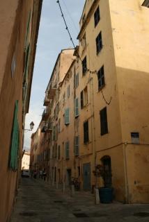 Unsere Straße in Bastia