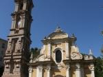 Die berühmte Barockkirche von La Porta