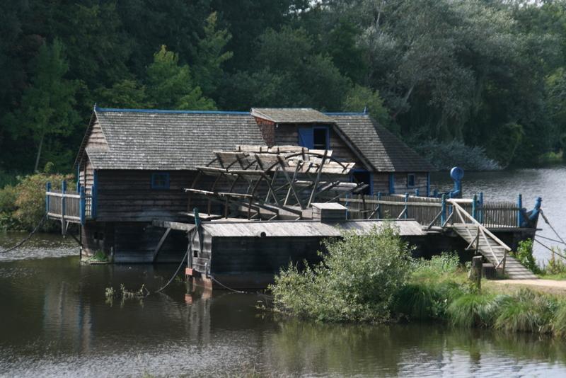 ungarische Schiffsmühle im Gifhorner Mühlenmuseum