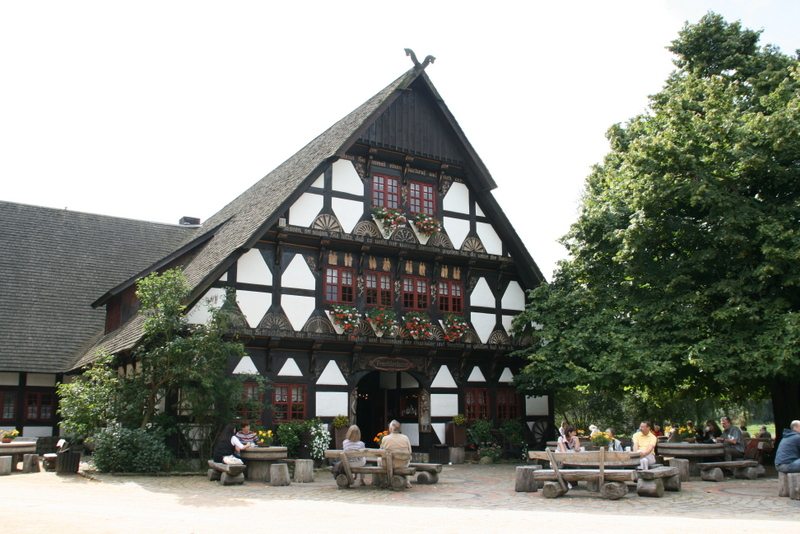 Das Trachtenhaus im Gifhorner Mühlenmuseum