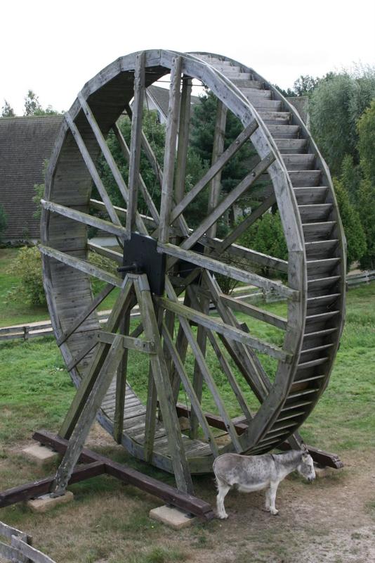 Die südlichen Mühlen im Gifhorner Mühlenmuseum
