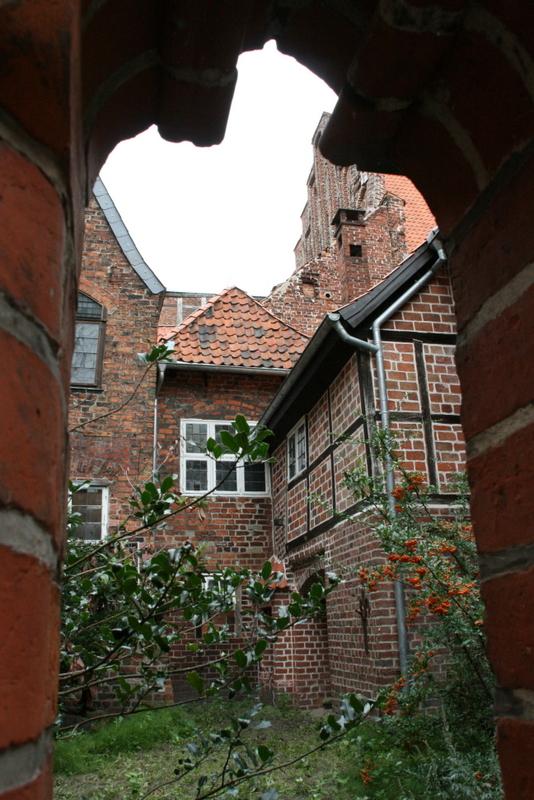Hinterhof des Lüneburger Rathauses