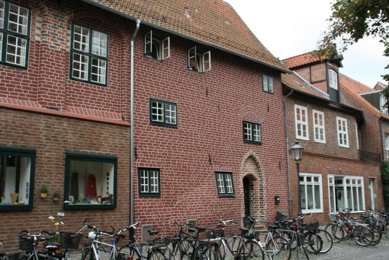 Das schwangere Haus in Lüneburg