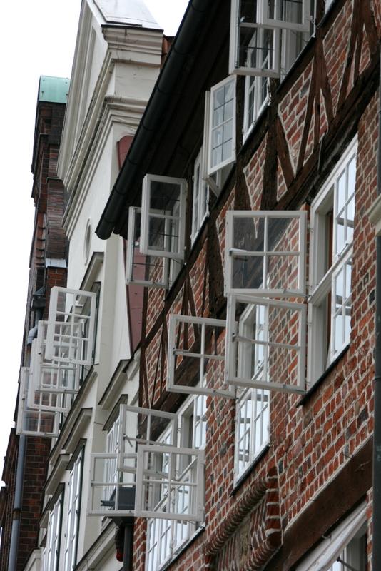 Backsteinhaus \'Am Sande\' in Lüneburg